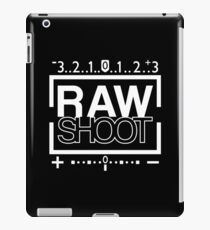 Raw Shot iPad Case/Skin