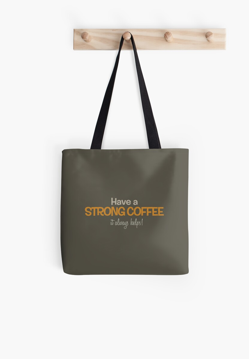 Have a strong coffee by Diego DeNicola