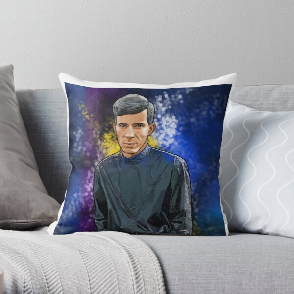 Bob 1 Pomp Throw Pillow