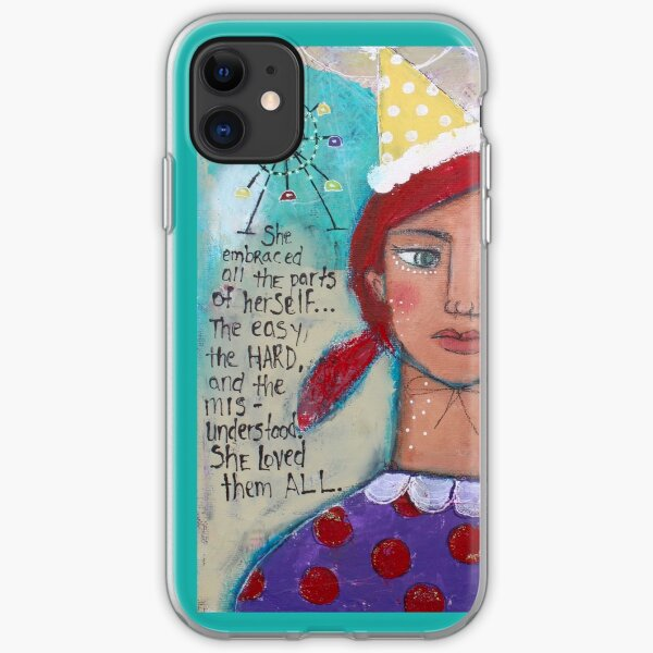 She Loved Them All iPhone Soft Case