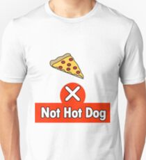 Not Hot Dog Unisex T-Shirt