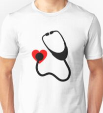 heart stethoscope T-Shirt