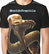 Snake Wor  T-shirt graphique