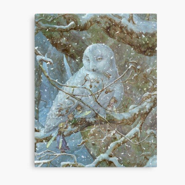 Winter Refuge Metal Print