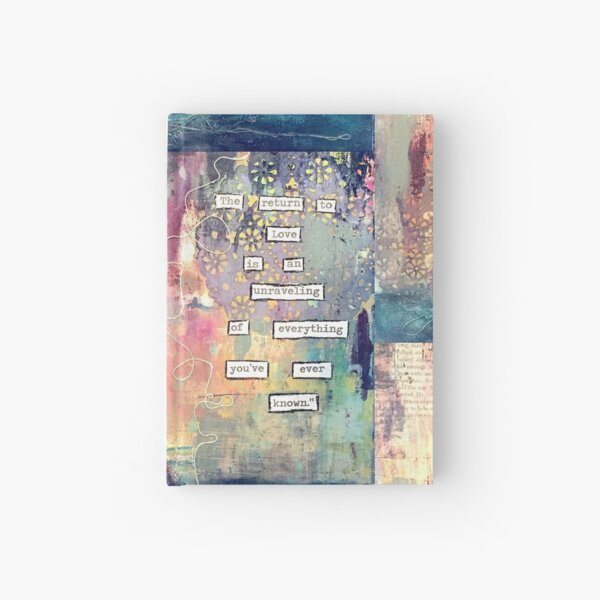 Unraveling Hardcover Journal