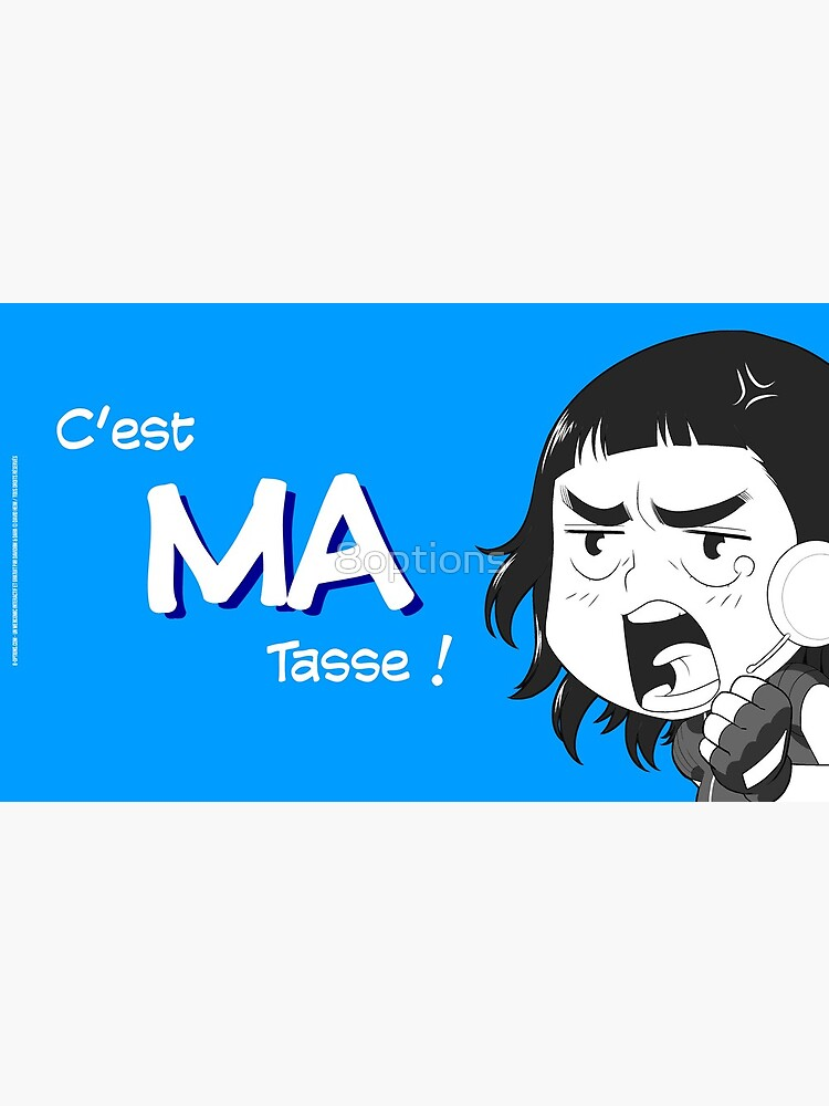 « 8-OPTIONS.COM - FR - MA TASSE - BLEU - 10 $ pour auteurs » par 8options