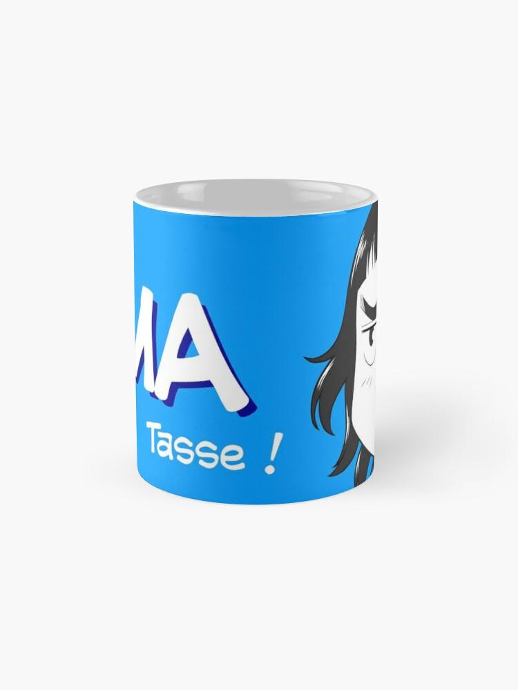 Mug classique ''8-OPTIONS.COM - FR - MA TASSE - BLEU - 10 $ pour auteurs': autre vue
