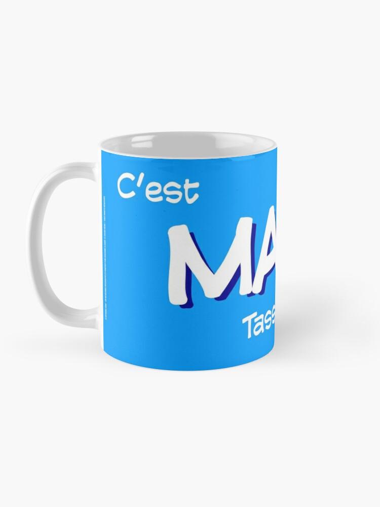 Mug ''8-OPTIONS.COM - FR - MA TASSE - BLEU - 10 $ pour auteurs': autre vue