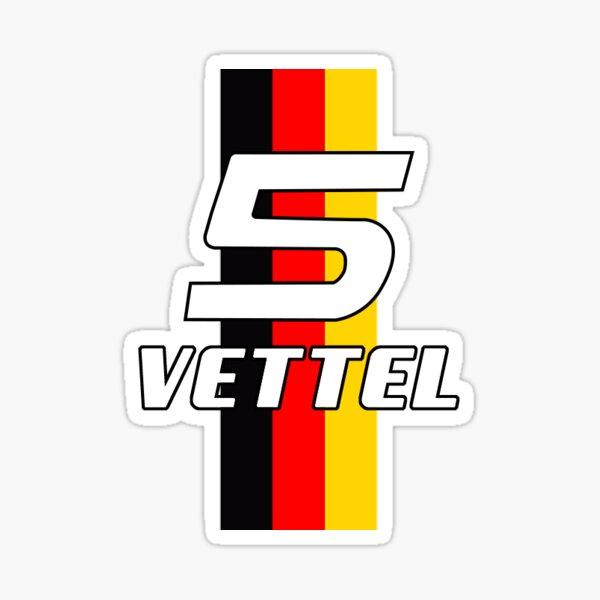 Sebastian Vettel # 5 Sticker