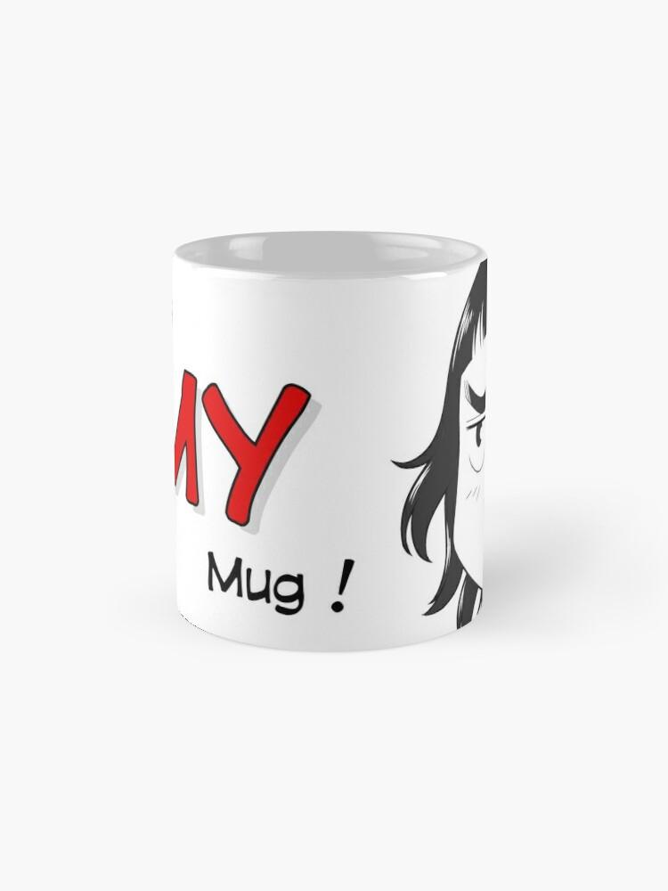 Mug ''8-OPTIONS.COM - EN - MY MUG - WHITE - 10 $ for the authors': autre vue