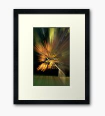 It Does Not Exist Until You Observe It Framed Print