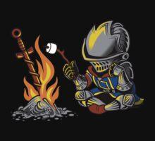 on an open bonfire   Unisex T-Shirt