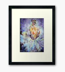 Ballerina - A Little Rest -  Ballet & Dance Art Gallery Framed Print