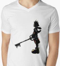 Kindom Hearts -Sora  Men's V-Neck T-Shirt