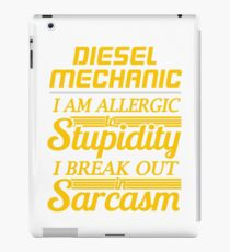 DIESEL MECHANIC iPad Case/Skin