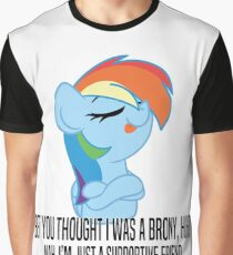 Supportive Friend Graphic T-Shirt