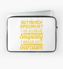 OUTREACH SPECIALIST Laptop Sleeve