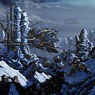 Battle of Eagle's Peak by Curtiss Shaffer