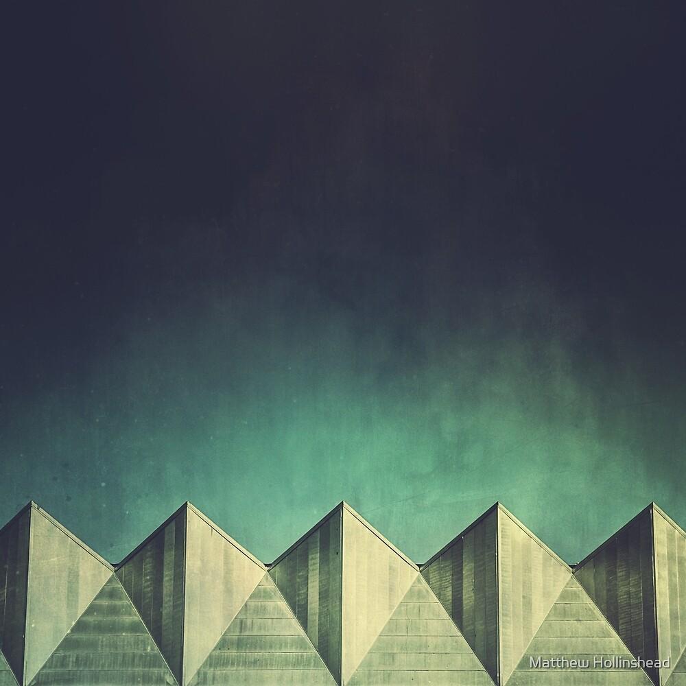 Urban Geometric Landscape Skyline by Matthew Hollinshead