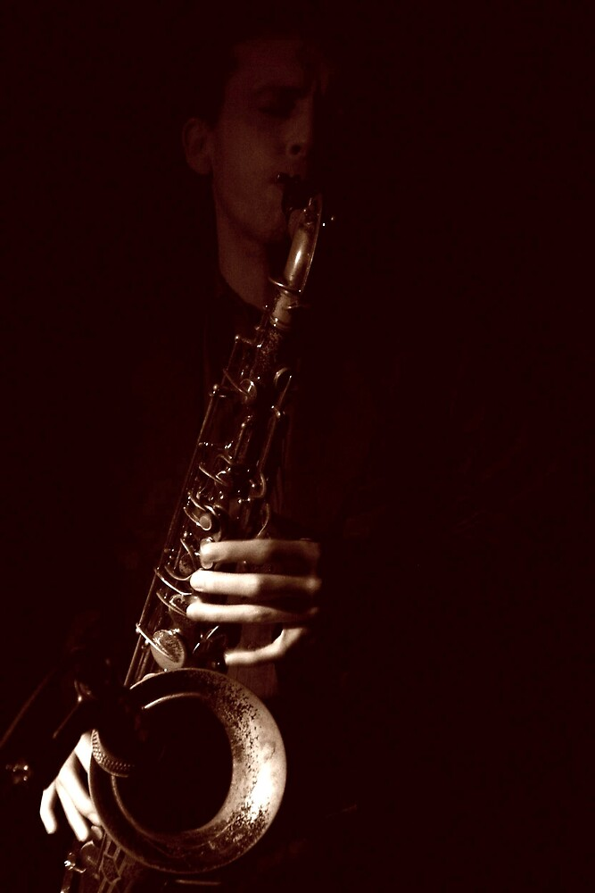 Pete the Sax by DawnP