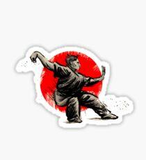 wushu martial arts Sticker