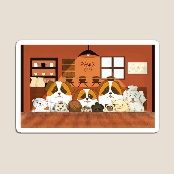 Doggy Cafe Magnet