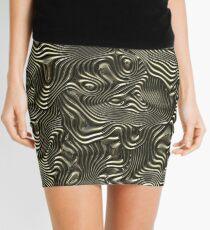 Groovy Lines Mini Skirt