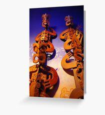Maori Art Greeting Card