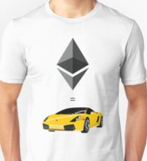 1 Ether = 1 Lambo Unisex T-Shirt
