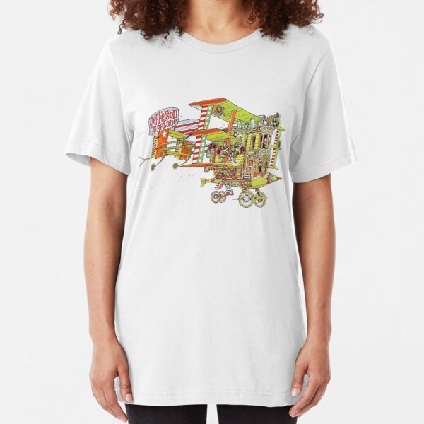 Jefferson Airplane - After Bathing at Baxter's Slim Fit T-Shirt