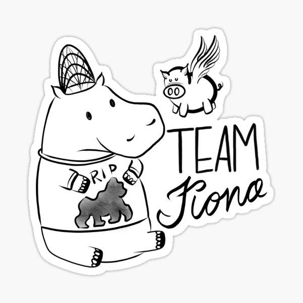Team Fiona Sticker