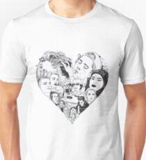 i heart skam Unisex T-Shirt