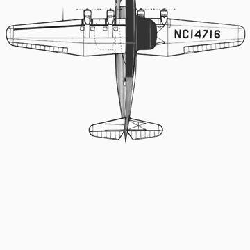Aeroplane Tshirt by troyw