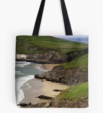 The sandy beach at Couminole Tote Bag