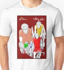 VUELTA: Vintage Cycle Racing Advertising Print T-Shirt
