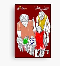 VUELTA: Vintage Cycle Racing Advertising Print Canvas Print