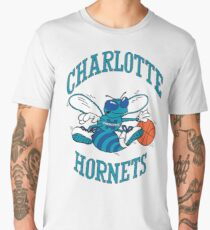 Retro Charlotte Hornets Logo Men's Premium T-Shirt