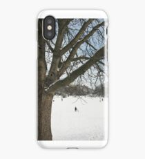 Snow Mill Hill Park iPhone Case/Skin