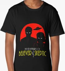 Believer and Skepticthe Long T-Shirt
