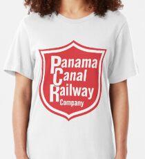 Panama Canal Railway Slim Fit T-Shirt