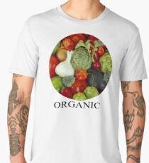 Organic Vegetables Men's Premium T-Shirt