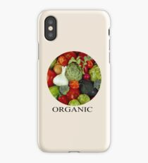 Organic Vegetables iPhone Case/Skin