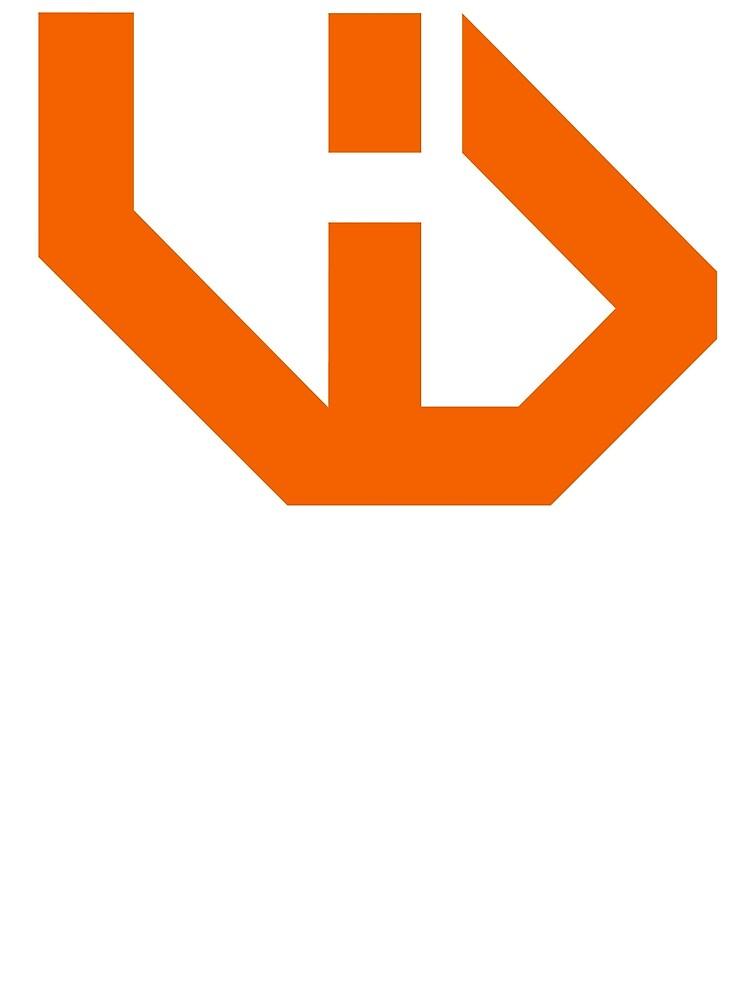 VloginDaily Logo Orange by Scott-Marci VlogInDaily