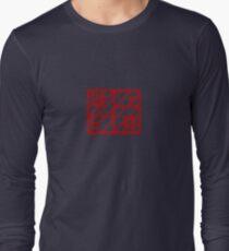 Sliced Long Sleeve T-Shirt
