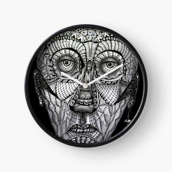 Tattoo man Clock