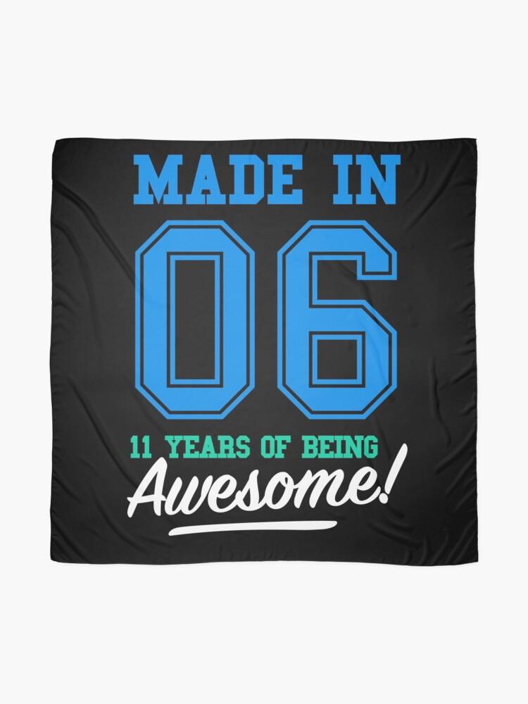 Alternative Ansicht von Geburtstag Shirts aus dem Jahr 2006 - 11 Jahre alt Jungs Tuch