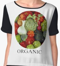 Organic Vegetables Women's Chiffon Top