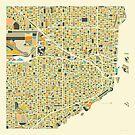 MIAMI MAP by JazzberryBlue
