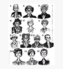 All of the Doctors Photographic Print