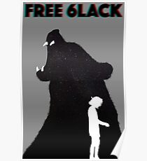 Free 6lack Poster